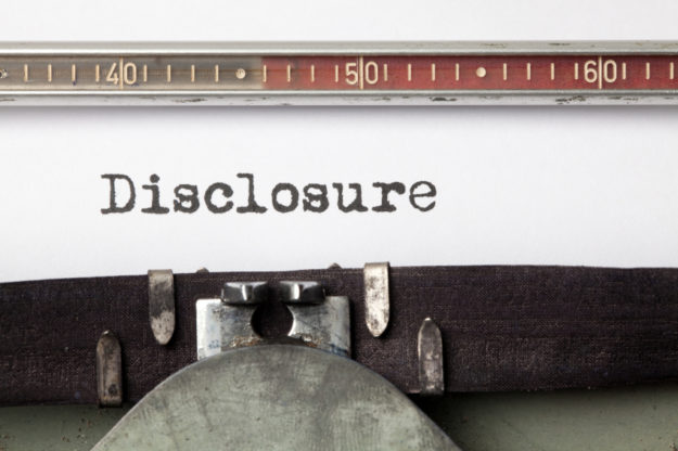 loan closing disclosure
