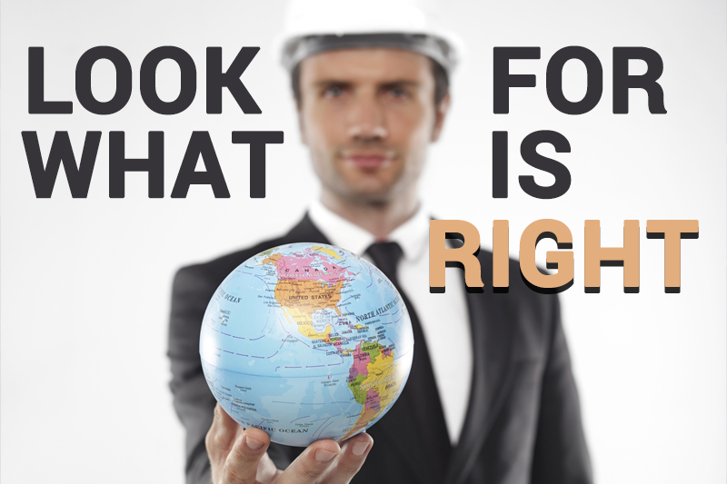 tips: Look for what is right