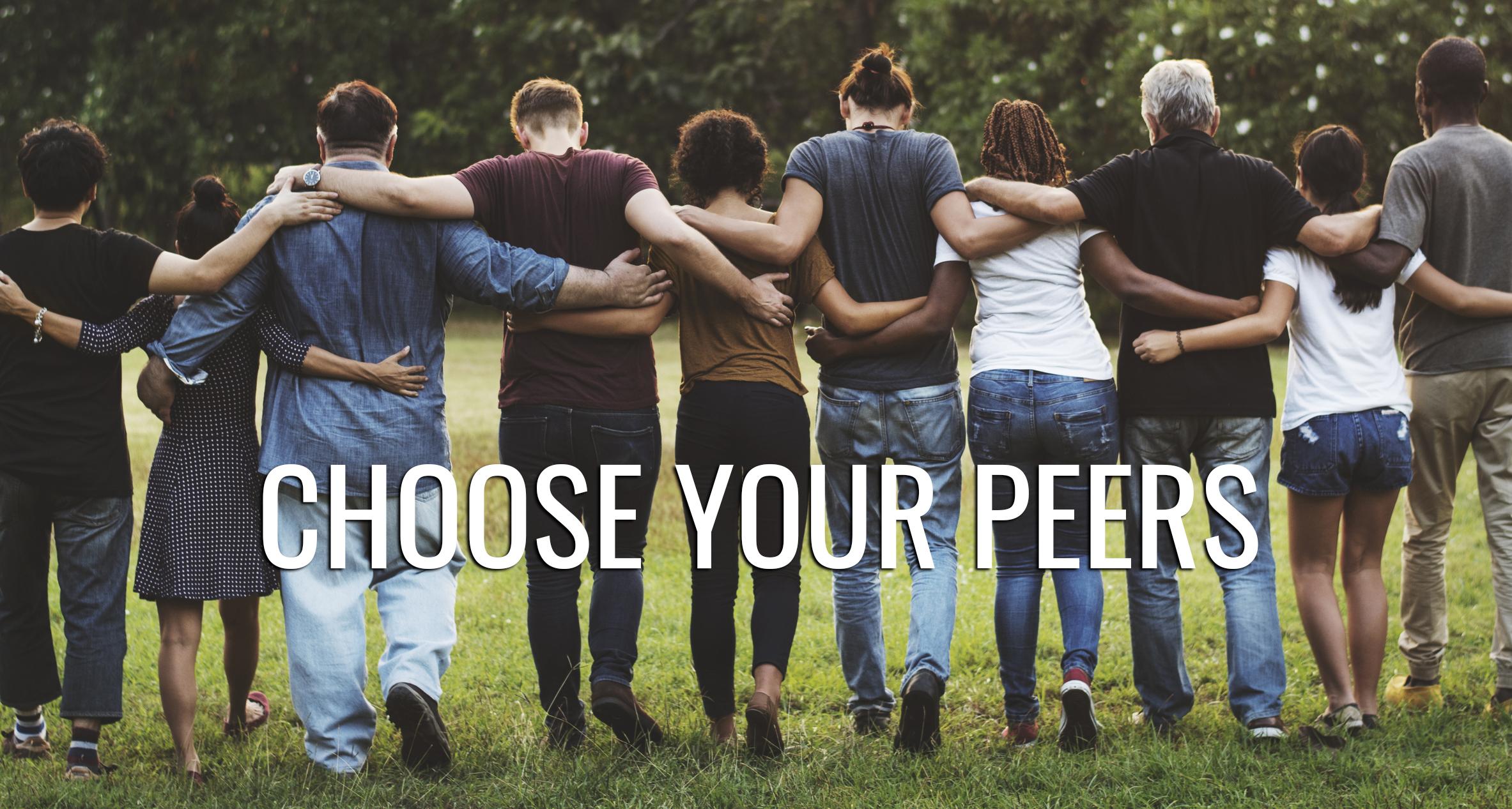 choose your peers